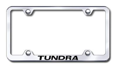 Purchase Toyota Tundra Wide Body Engraved Chrome License Plate Frame -Metal Made in USA motorcycle in San Tan Valley, Arizona, US, for US $30.98