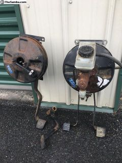 Complete Brake boosters / Pedal Assembly