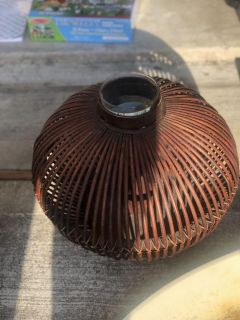 Pier 1 candle holder