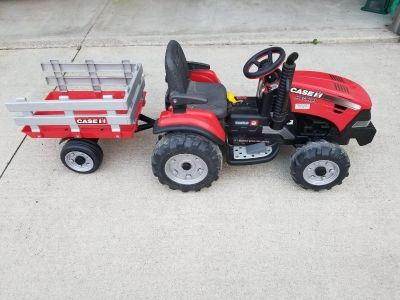 Peg Perego 12V Tractor and Trailer