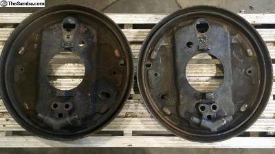 Set of Brake Backing Plates
