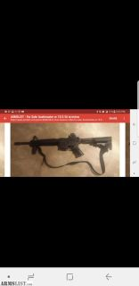For Sale: Ar 15 bushmaster 5.56 with extras