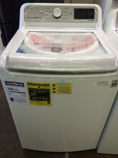 LG 5.0 HE Washer in White