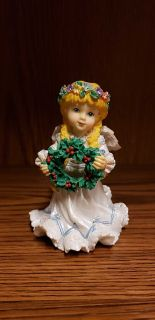 "Christmas angel 3 1/2"" tall"