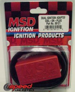 Sell MSD 89121 Ford 2003 & UP Coil On Plug Ignition Adapter motorcycle in Suitland, Maryland, US, for US $80.83