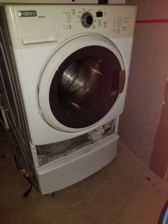Maytag washer and dryer.