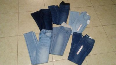 Girls skinny jeans/jegging lot. Some are nwt and the others are nwot.