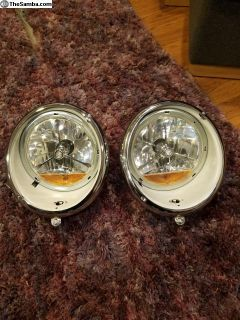 New headlight assemblies LED bulbs
