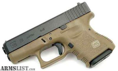 For Sale/Trade: Gen 3 Glock 26 OD with NS