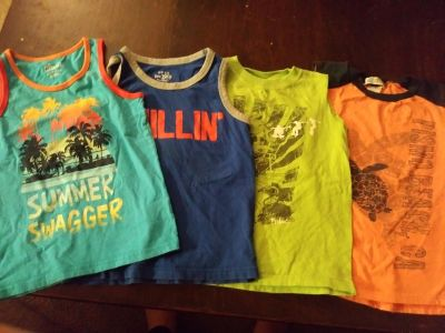 boys Tank size 4-7 all $6 elk grove xposted