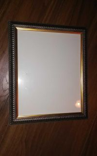 Silver and Gold 8x10 Picture Frame