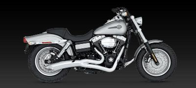 Purchase Vance & Hines Big Radius 2-into-1 Exhaust 06-11 Harley Davidson Dyna motorcycle in Ashton, Illinois, US, for US $652.46