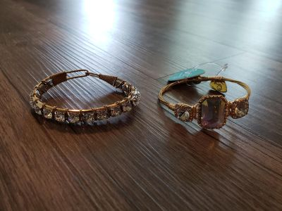 2 bangles from Sweet Tea boutique