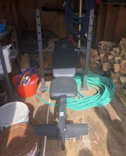 Golds Gym weight bench. $25 PPU