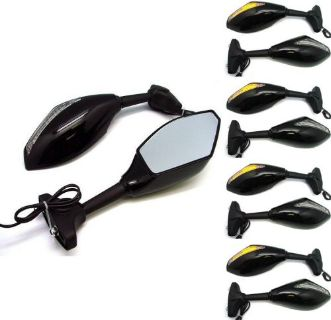 Buy LOT 20 Pair~LED Turn Signal Mirrors For CBR 600RR Ninja YZF R1 R6 GSXR Wholesale motorcycle in Pomona, California, United States, for US $209.95
