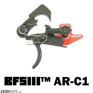For Sale: Franklin Armory Binary Trigger system BFS III