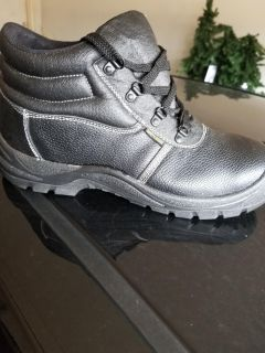 New steel toes boots