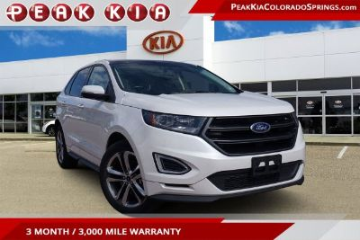 2016 Ford Edge Sport (White)