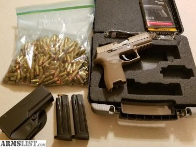 For Sale: Sig p320c with alot extrasand ammo