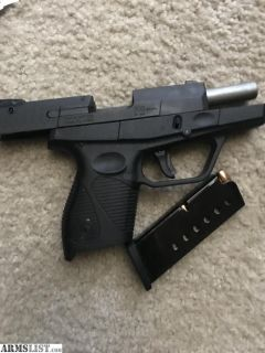 For Sale: TAURUS 709 SLIM **Has never been fired**