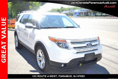 2012 Ford Explorer Limited (White Suede)