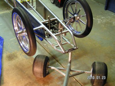 Dragster Lift and Load