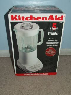 KitchenAid 5 Speed Blender NEW KSB5 ~ Ultra Power ~