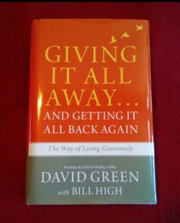 Giving it All Away...book