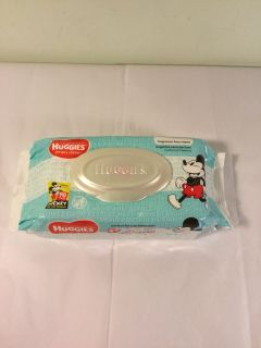 Huggies Mickey mouse simply clean baby wipes, 64 count