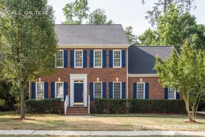 Beautiful brick front 3-BR home in the heart of Cary! Available Now!