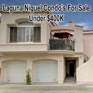 Laguna Niguel Condo's For Sale Under $400K