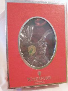 Waterford Crystal Baby Carriage Ornament