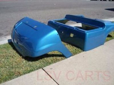 Sell Yamaha g14 g16 g19 g21 golf cart custom front rear body cowl Many colors motorcycle in Corona, California, United States, for US $499.00