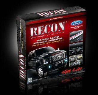 Sell RECON #264181RD FORD SUPERDUTY RED RAISED LOGO ACRYLIC EMBLEM INSERT (2008-2012) motorcycle in Bradenton, Florida, US, for US $81.95