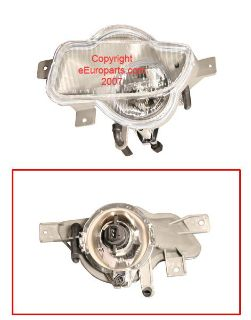 Purchase NEW Proparts Foglight Assembly - Driver Side 34438621 Volvo OE 8620228 motorcycle in Windsor, Connecticut, US, for US $65.95