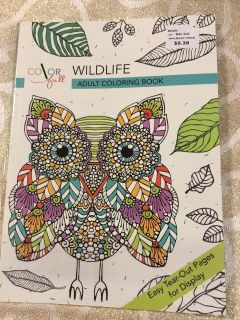 Color Full Wildlife Coloring Book (retail $5.3 G4