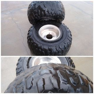 2 ATV Tires with Rims AT 21 x 10-8