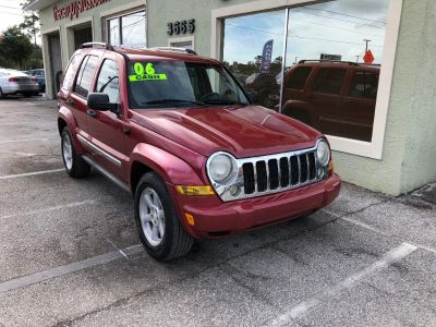 2006 Jeep Liberty Limited (Red)
