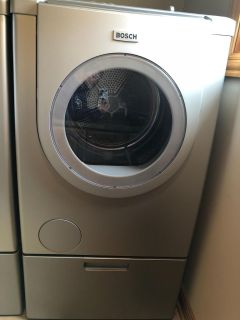 Bosch washer and gas dryer