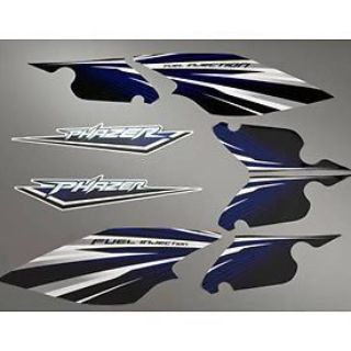 Sell Yamaha Phazer Custom Decal Kit Blue Snow Sled Trail motorcycle in Maumee, Ohio, United States, for US $67.99