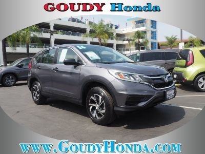 2016 Honda CR-V LX (grey)