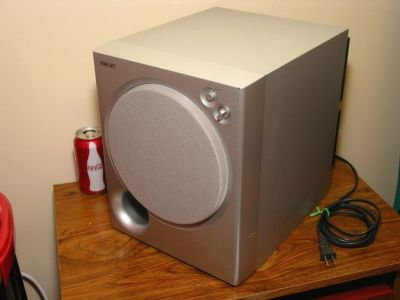 Sony SA-WMSP85 Active Subwoofer