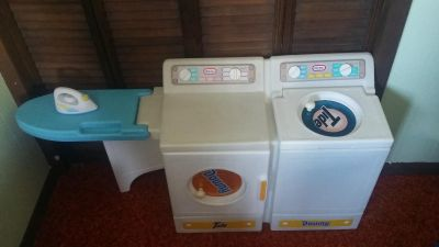 Little Tikes Washer and Dryer with Iron