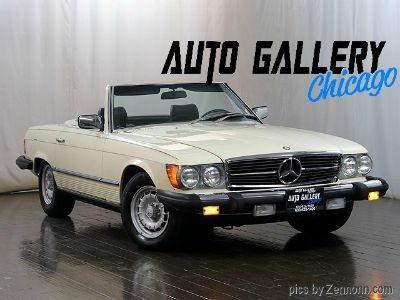 1981 Mercedes-Benz 380 Series 2dr Roadster 380SL