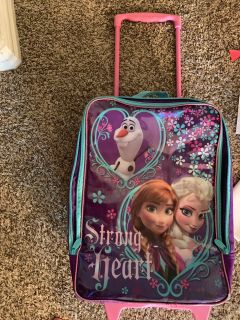 Ana and Elsa suitcase