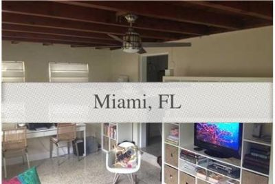 Mid-century modern home perfectly situated in the heart of South Miami. Will Consider!