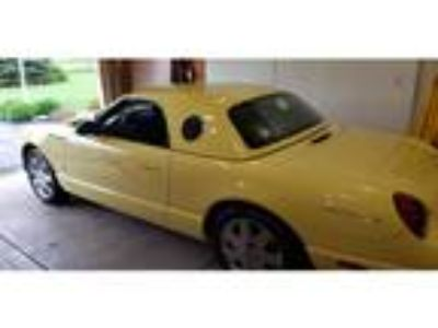 2002 Ford Thunderbird 2dr Convertible for Sale by Owner