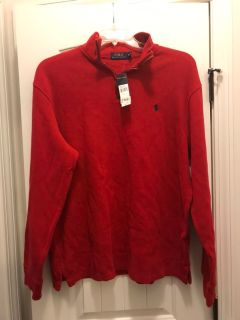 Men polo sweater