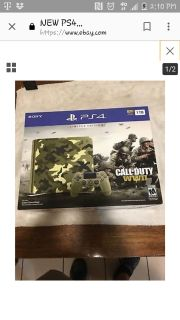 Ps4 camouflage with game