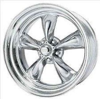 Sell American Racing Torq Thrust II 17 x 8, 5 x 127/5.0 -11 Chrome (1) Wheel/Rim motorcycle in Kent, Washington, US, for US $217.00